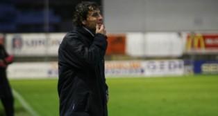 Imanol Idiakez, entrenador del Zaragoza.