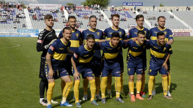 Once titular del Cádiz CF en Jaén