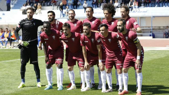 Once del Cádiz CF en Jumilla