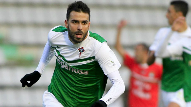 Joselu no jugó en Carranza al estar sancionado.