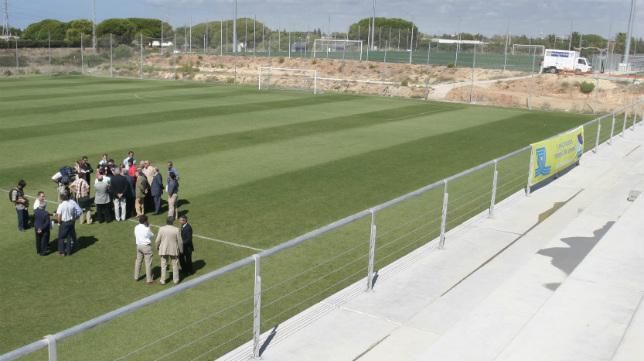 Los campos de El Rosal se inauguraron en el año 2006.