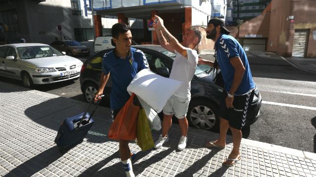 Alvarito llega a la capital gaditana tras el viaje del Cádiz CF a Santander