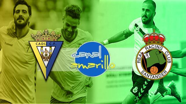 Cádiz CF y Racing buscan un buen resultado en el partido de ida