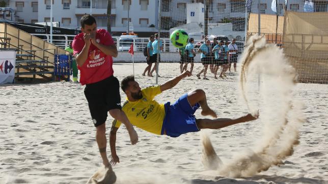 El Cádiz CF Sotelo se proclamó campeón de España de Fútbol Playa en 2016.