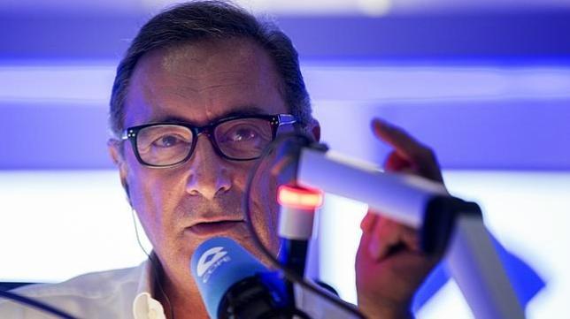 Carlos Herrera en su programa 'Herrera en Cope'