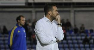 Tevenet en su etapa como entrenador del Huesca