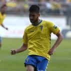 Machado en un partido con el Cádiz CF en Carranza