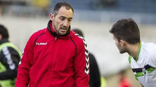 Pedro Munitis, entrenador del Racing