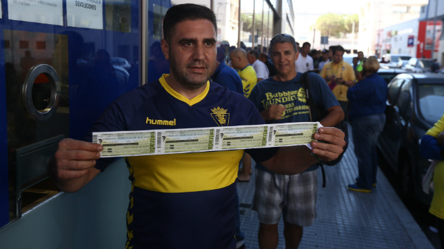 Los cadistas ya pueden retirar sus entradas para Alcorcón.