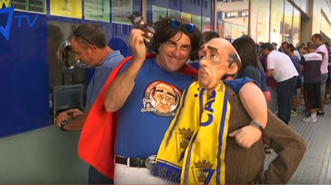 El Selu y Juan se hacen socios del Cádiz CF
