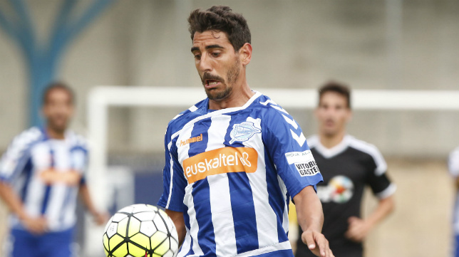 Javier Carpio, nuevo jugador del Cádiz CF.