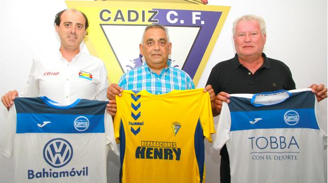 El Cádiz CF Virgili y el CD Cádiz Costa de la Luz han firmado un interesante convenio