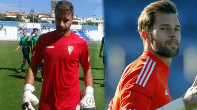 Cifuentes y Jesús Fernández pelean por un puesto en la portería del Cádiz CF