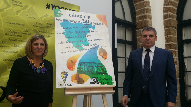 Irene García y Manuel Vizcaíno presentan el cartel de la pretemporada