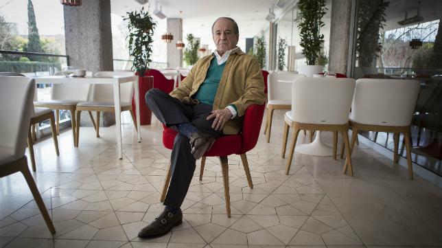 El periodista José María García es todo un referente.