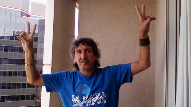 Mágico González, el ídolo del cadismo.
