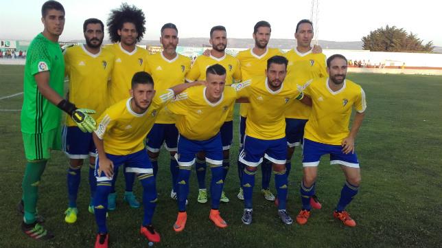 El Cádiz CF jugará el sábado en Los Barrios ante Osasuna