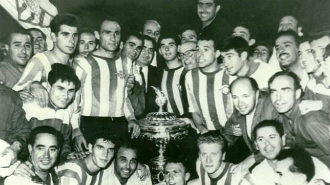El Real Betis se alzó con su primer Trofeo Carranza en 1964