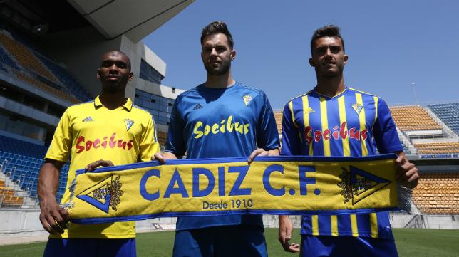 Abdullah, Jesús Fernández y Luis Ruiz