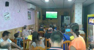 Los aficionados del Cádiz Cf verán el partido por televisión.