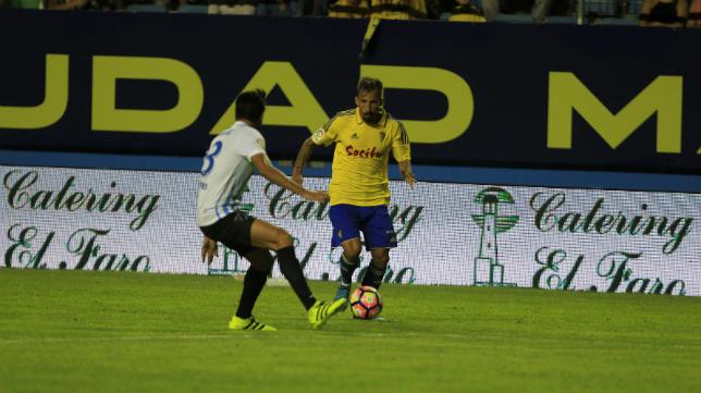 Aitor fue el autor del gol cadista en la final del LXII Trofeo Carranza