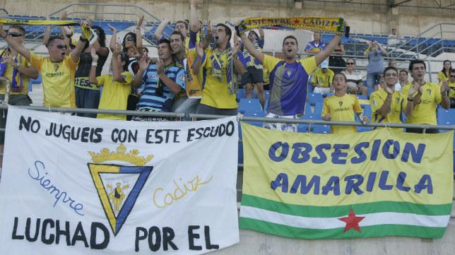 Gaditanos afincados en Almería estarán en la grada.