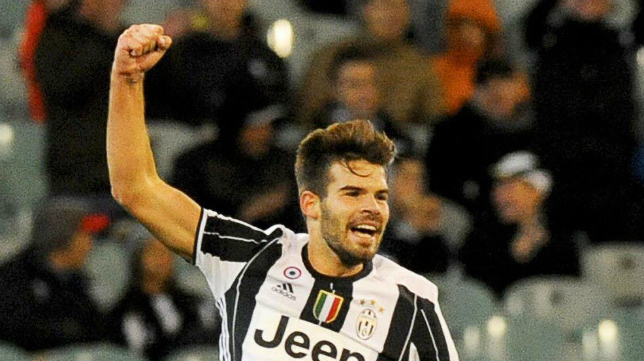 Carlos Blanco, futbolista de la Juventus de Turín.
