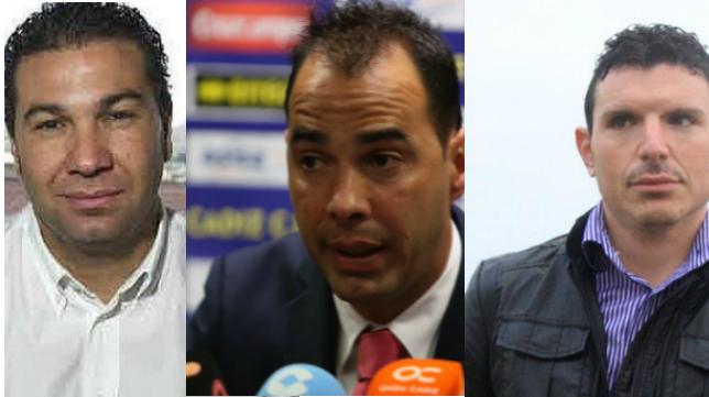 Juan Carlos Cordero, Jorge Cordero y David Buitrago