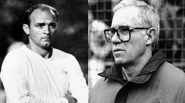 Alfredo Di Stéfano y Luis Aragonés ganaron el Trofeo como jugadores y entrenadores