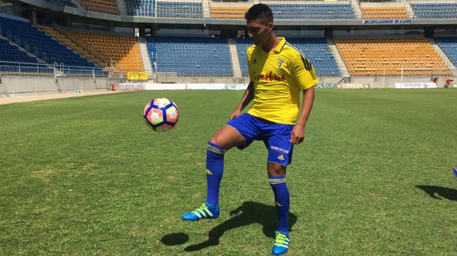 Eddy Silvestre, hoy en Carranza.