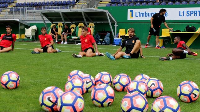 El Mallorca se concentró esta pretemporada en Holanda. / RCD Mallorca