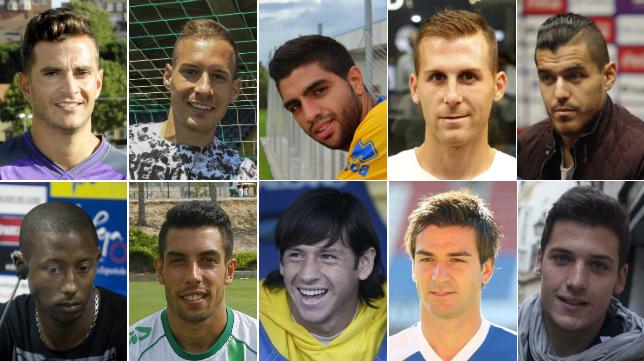 El Cádiz CF se encontrará a viejos conocidos que vistieron la camiseta amarilla.