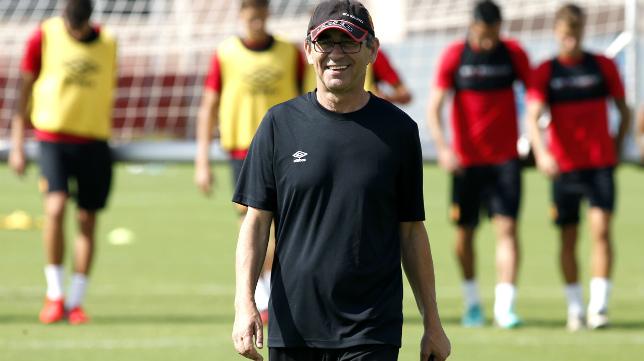 Fernando Vázquez ya no es el entrenador del Mallorca.