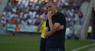 Fernando Soriano, por ahora entrenador de la UD Almería.