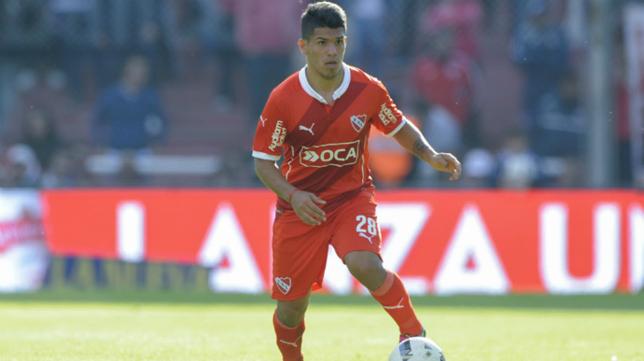 Gastón del Castillo con Independiente