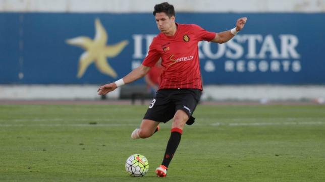 Héctor Yuste en las filas del Mallorca