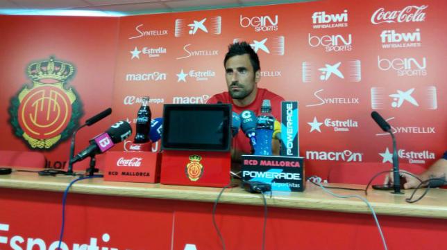 Juan Rodríguez ha hablado hoy en rueda de prensa sobre el partido ante el Cádiz CF. / SER