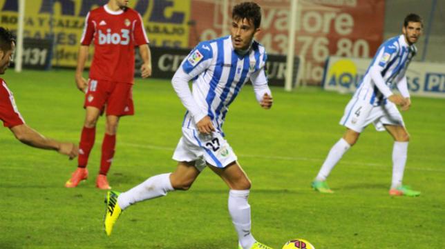 Luis Ruiz en su etapa en el Leganés