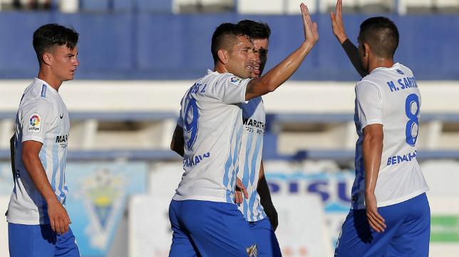 El Málaga disputa hoy la segunda semifinal del LXII Trofeo Carranza