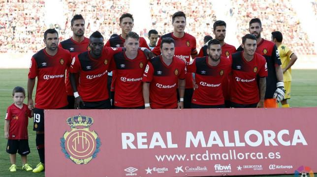 El Mallorca ha cambiado muchas veces su once. / RCDM