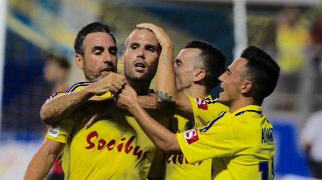Ortuño está siendo el fichaje más destacado del Cádiz en este inicio de Liga.
