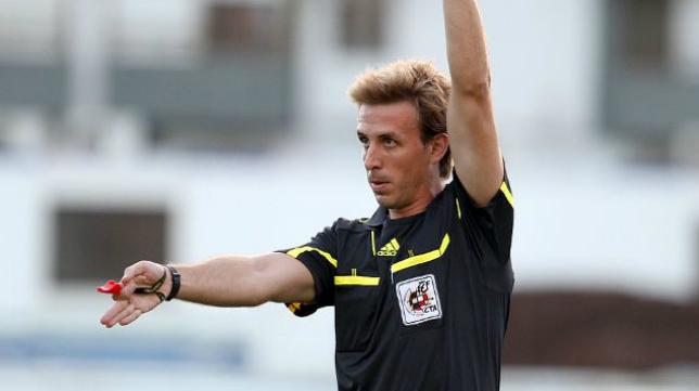 El colegiado madrileño Pizarro Gómez arbitrará el Cádiz CF-Reus.