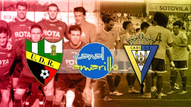 Roteña y Cádiz CF juegan un amistoso