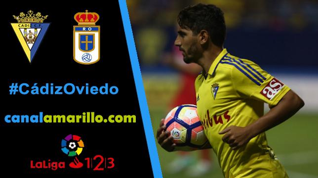 El Cádiz CF quiere sumar otra victoria ante el Oviedo