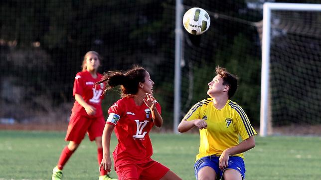 El Cádiz CF Femenino empezó con victoria la competición