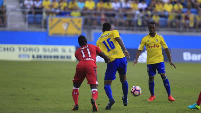 Abdullah y Eddy no podrán jugar ante el Tenerife.