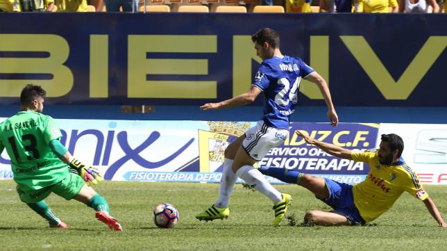 El Real Oviedo ganó en el Carranza.