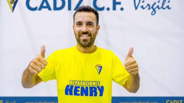 Kike Barroso, nuevo jugador del club panadero.