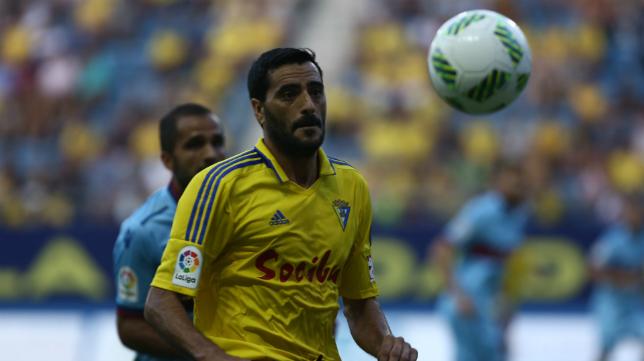 Dani Güiza autor del primer gol ante el Levante