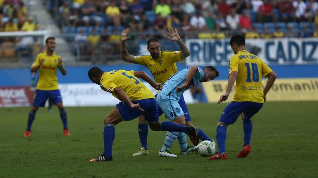 Imagen del partido de Copa del Rey ante el Levante.
